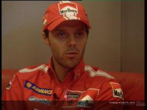 Loris CAPIROSSI Pre-event interview