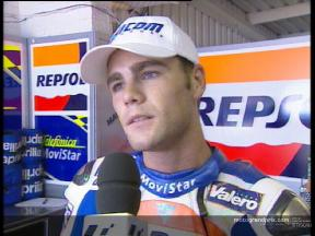 Fonsi NIETO interview after the QP1