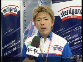 Youichi UI interview after the race