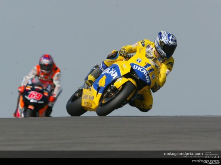 MotoGP circuit action shots