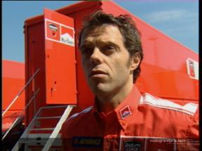 Loris CAPIROSSI pre-event interview - Estoril