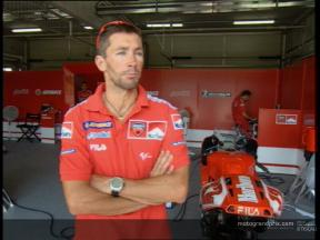 Troy BAYLISS pre-event interview - Estoril