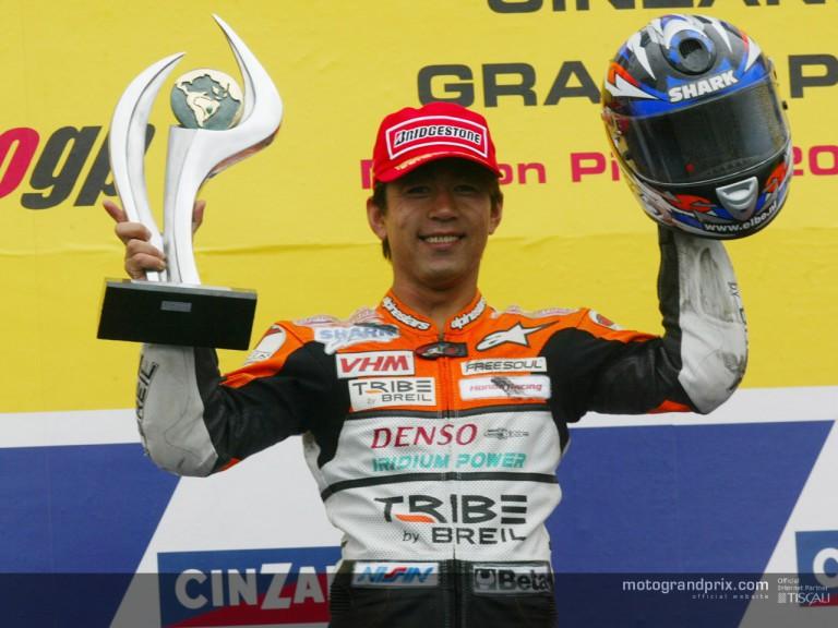 Azuma podium Rio 2002