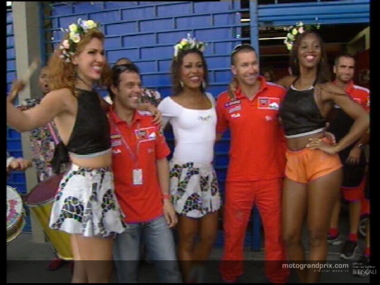 MotoGP welcomed by carnival atmosphere in Rio