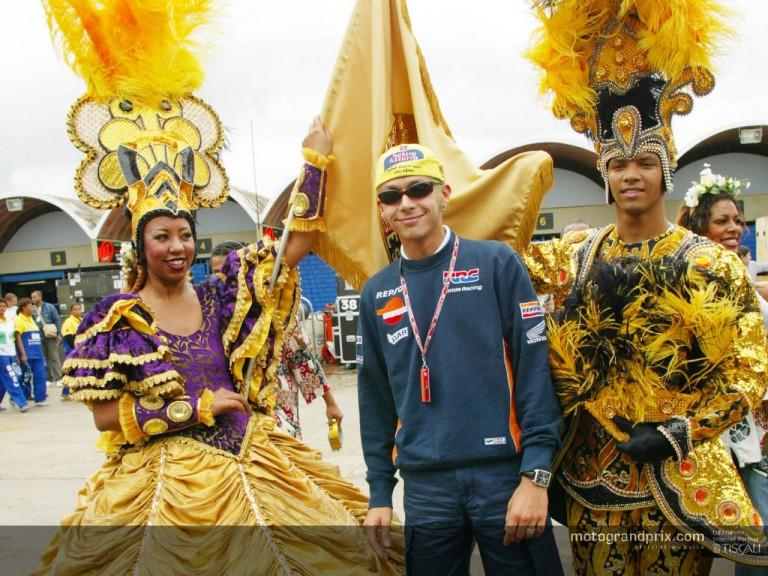 Rossi en Rio