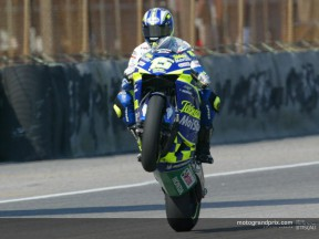 Gibernau post race Rio