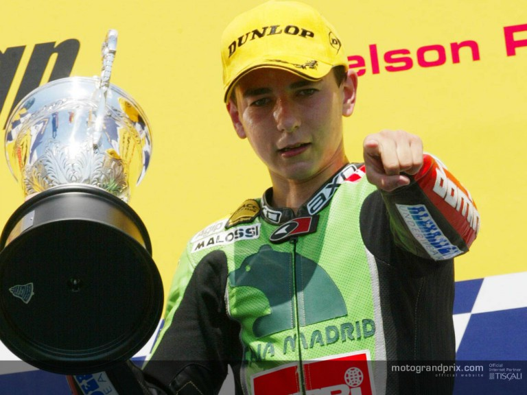 Lorenzo podium RIO