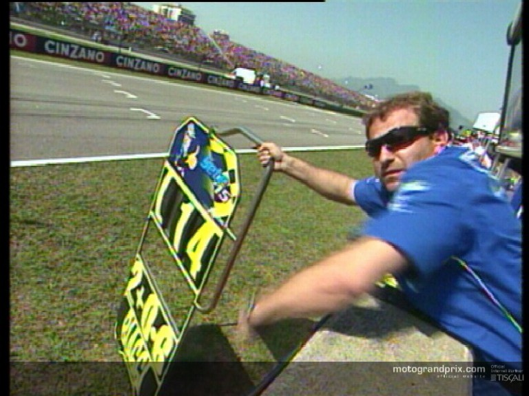 Best actions of the MotoGP  Cinzano Rio Grand Prix