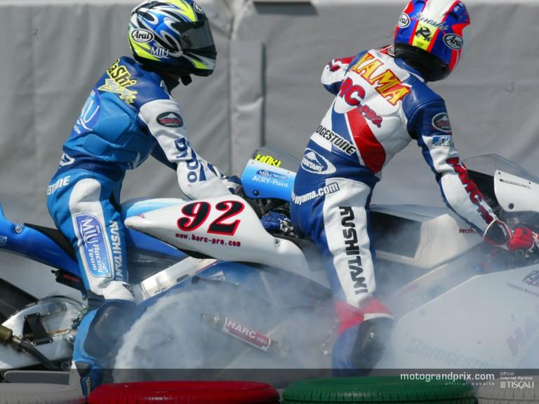 Takahashi & Aoyama post race Suzuka