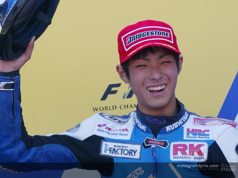 Takahashi podium