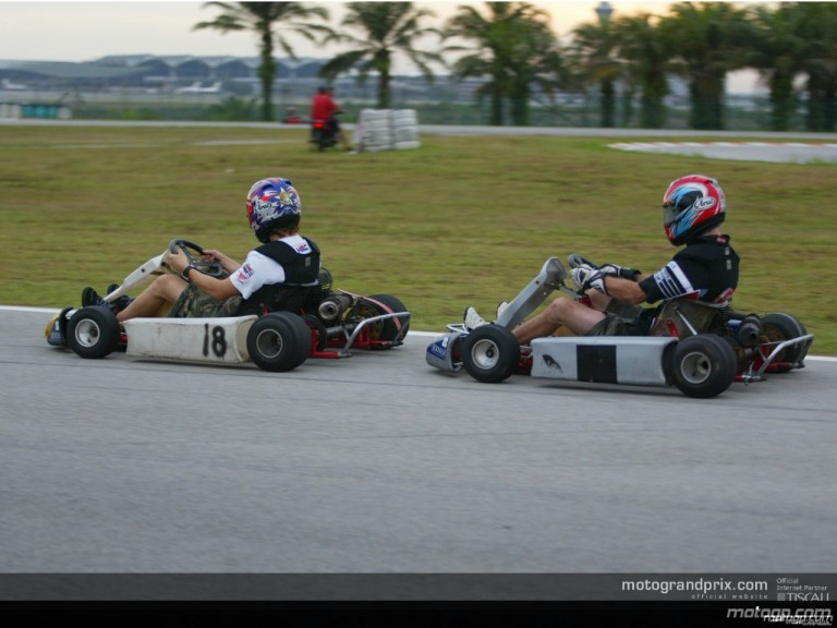 Kart race in Malaysia - Photo Gallery