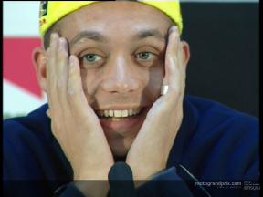 Valentino ROSSI press conference interview