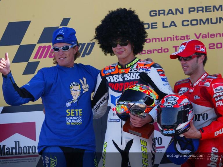 Podium MotoGP