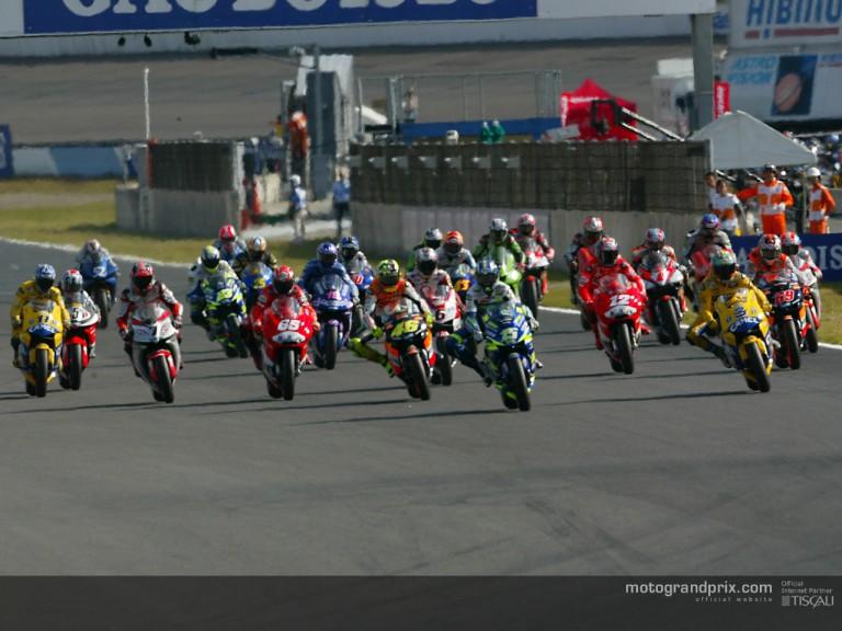 Start MotoGP Motegi 2003
