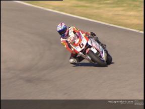 Makoto Tamada test at Valencia