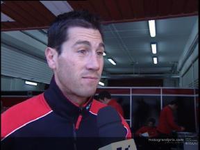 Ruben Xaus interview - Valencia test