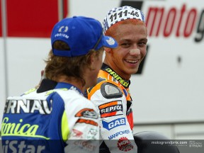 Gibernau and Rossi