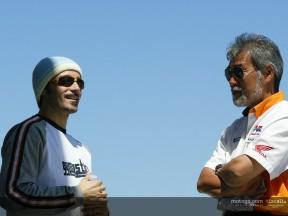Biaggi paddock Test Phillip Island