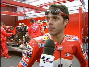 Loris CAPIROSSI interview - Valencia test