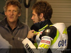 Valentino ROSSI and Carlos CHECA test at  Phillip Island