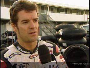 Carlos CHECA interview test at Phillip Island