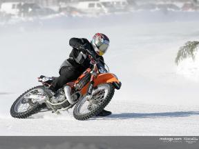 Mika Kallio takes double win in Finnish Ice Racing Championship