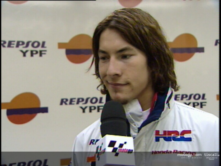 Nicky HAYDEN interview