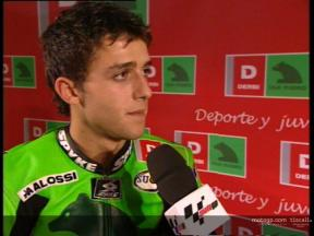 Angel RODRIGUEZ interview at Derbi presentation