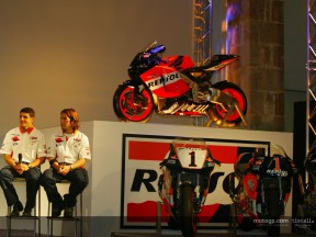 Repsol Honda official presentation 01
