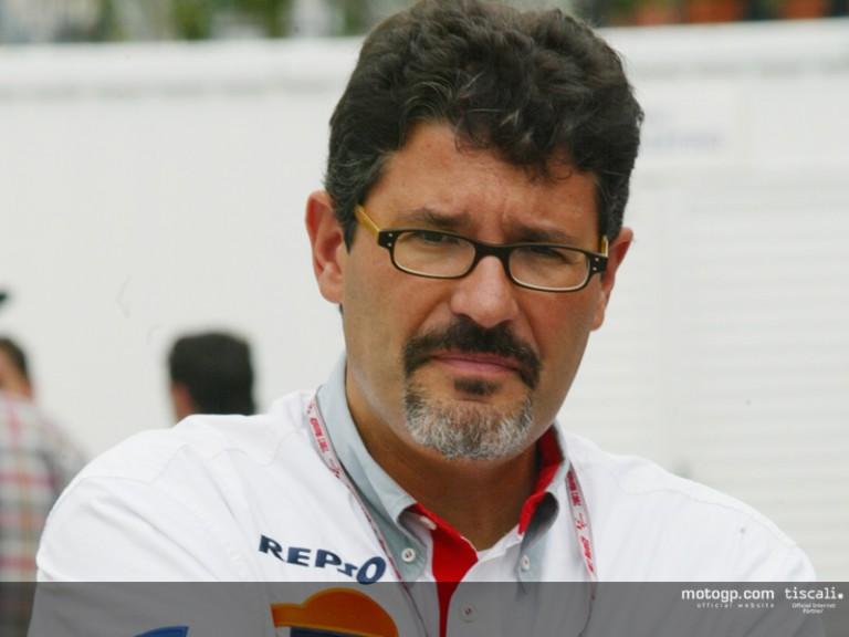 Carlo Fiorani paddock