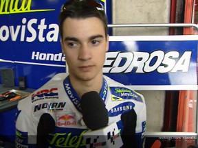 Daniel PEDROSA interview - Catalunya Test