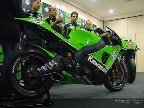 Presentación oficial de Kawasaki Racing Team