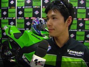 Entrevista a Shinya Nakano en la presentación de Kawasaki