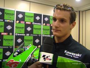Entrevista a Alex Hofmann en la presentación de Kawasaki