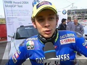 Interview de Valentino ROSSI MotoGP Official Test Catalunya
