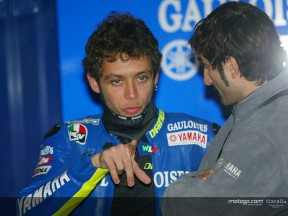 Rossi box Test Catalunya 2004
