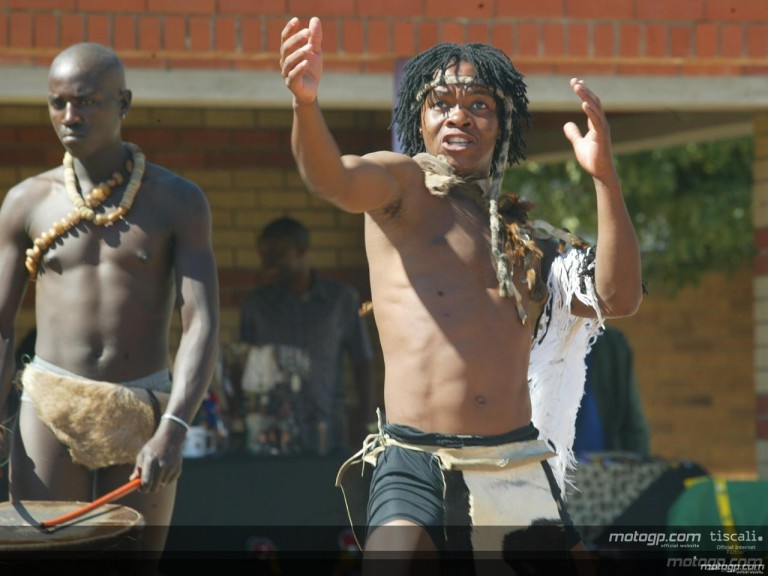 Riders visit Thabong Atrs and Culture Centre