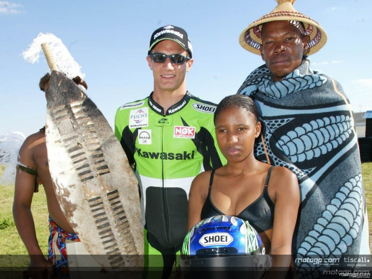 MotoGP bursts into colour in South Africa