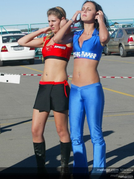 Paddock Girls Africa´s Grand Prix