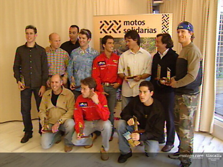 Spanish riders honoured by Motos Solidarias