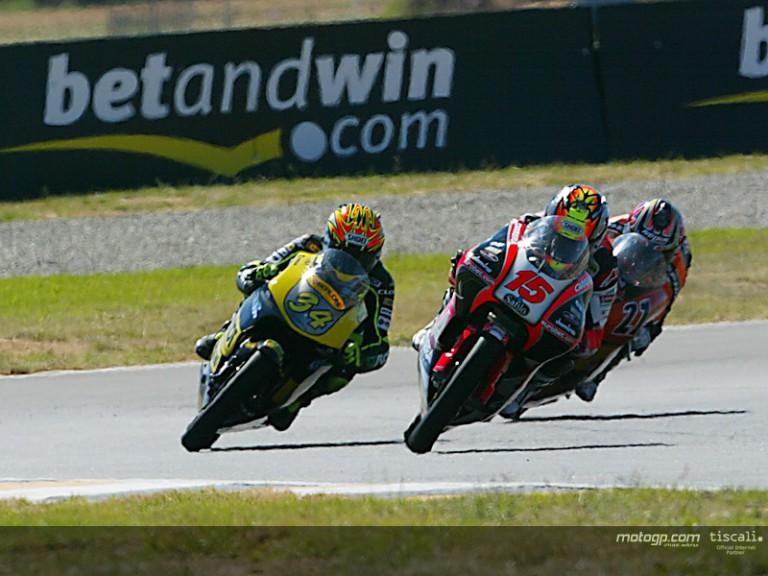 125cc last lap at Welkom