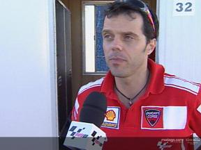 Interview with Capirossi ahead of Gran Premio Marlboro de España