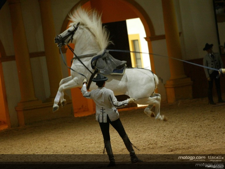 Bayliss and Nakano at the Royal School of Equestrian Art