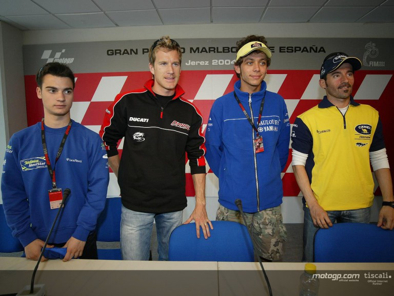 Press conference Jerez 2004