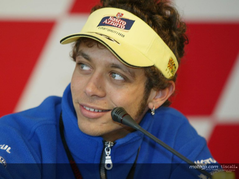 Rossi press conference Jerez 2004
