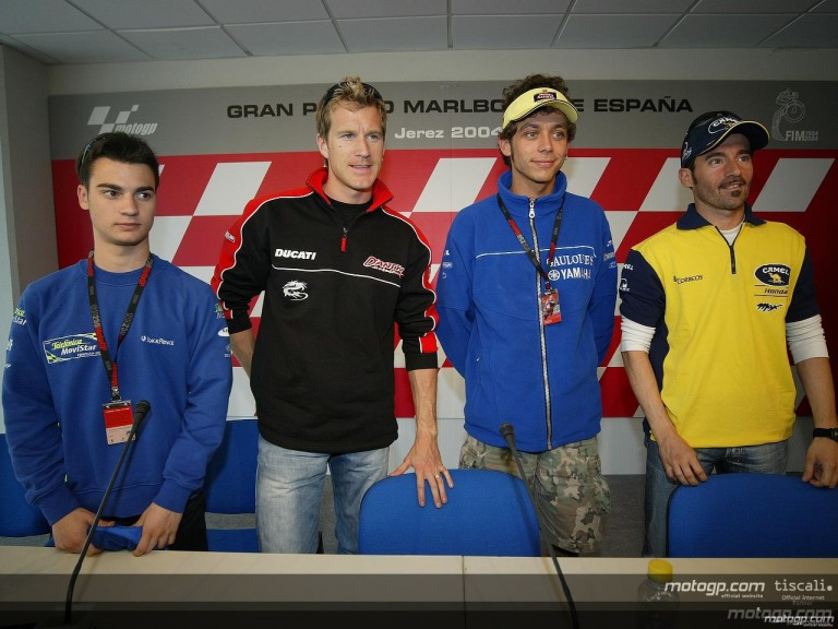 Pre-event press conference at Jerez