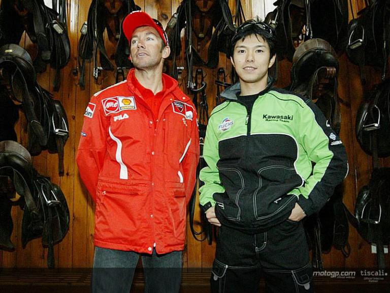 Bayliss and Nakano visit Royal School of Equestrian Art