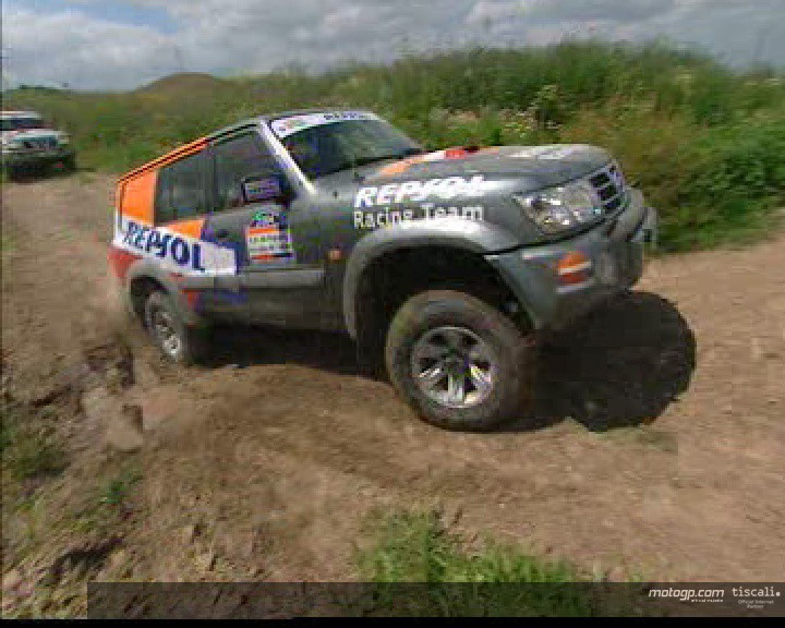 Repsol riders go off-road