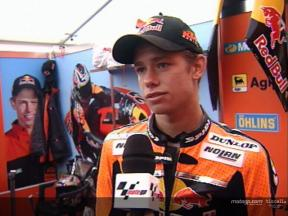 Interview de Casey STONER apres course