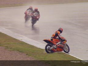 Casey STONER crash during the race